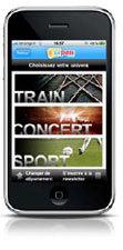 zePASS.com lance son appli iPhone