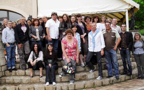 Les chefs d'agences d'Ailleurs Voyages étaient récemment en séminaire au camping Kawan Village les Ranchisses (Ardèche)
