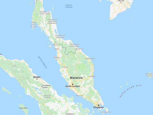 Malaisie : la législation malaisienne interdit aux étrangers de participer à toute activité politique et à toute manifestation - Google Map
