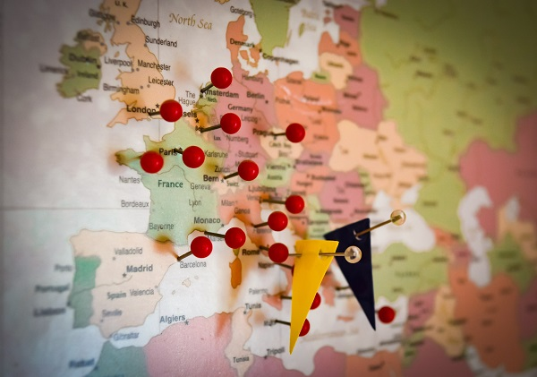 Le tourisme en Europe représente la 4e industrie exportatrice - Crédit photo : Pixabay, libre pour usage commerciale