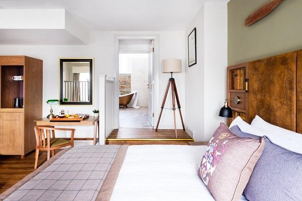 Une chambre de l'Hotel Indigo de Durham - Crédit photo : Hotel Indigo