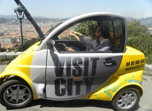 Nice : un véhicule électrique pour visiter la ville