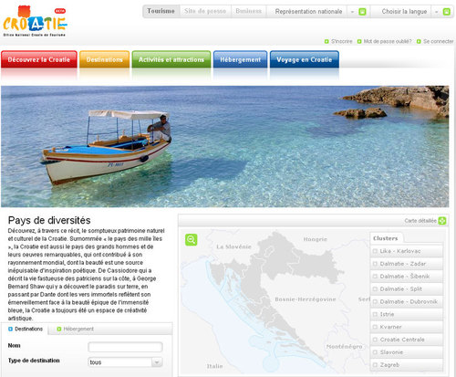 OT de Croatie : le site Internet fait peau neuve