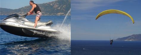 Corse Publitour voyages : Ajaccio 4jours/3nuits Avion + Hotel + Baptême de parapente + Sortie en jet ski à partir 489 euros