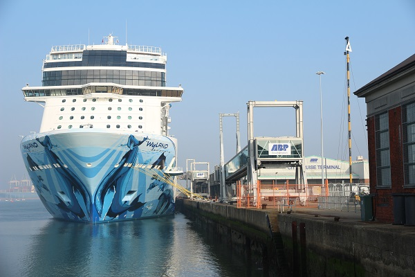 Le Norwegian Bliss est le dernier navire de la compagnie - Crédit photo : RP