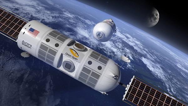 Orion Span propose les premiers séjours dans l'espace à se dérouler dans un hôtel de luxe - Crédit photo : Orion Span