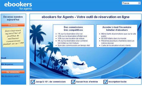 ebookers.fr lance son programme d'affiliation pour les agences en France