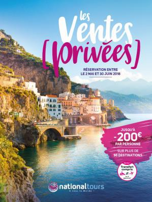 Ventes privées Nationaltours - DR