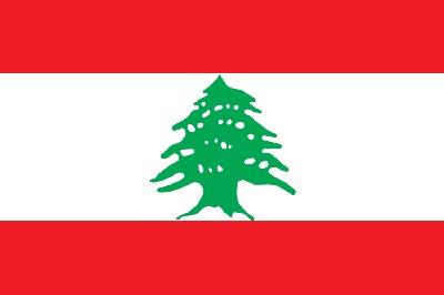 Le drapeau du Liban - DR