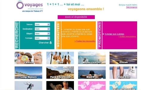 Ôvoyages lance son site groupes