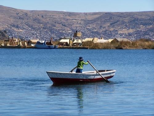 Le Lac Titicaca, un des sites naturels les plus connus de l'Amérique du Sud