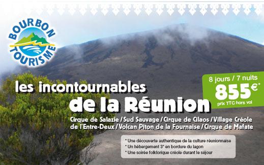 La Réunion via Bourbon Tourisme joue les prolongations !
