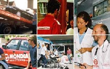L'assistance médicale représente 10% des dossiers et se concentre sur les départements et pays traditionnels (mer et montagne en France, Espagne et Maroc à l'étranger).