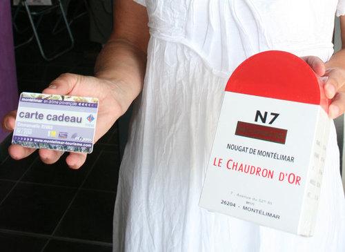 Les deux spécialités de Montélimar : le nougat et le passeport touristique électronique