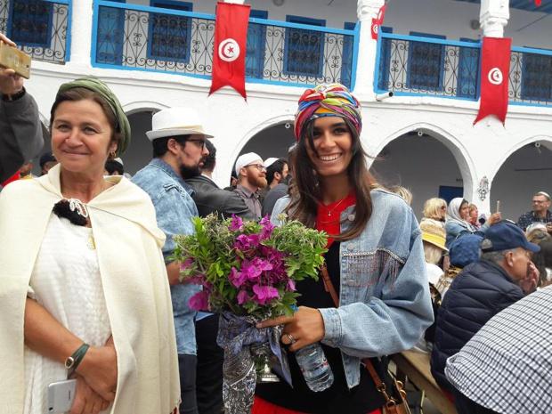 """""""Regardez comme c'est beau tous ces Juifs et ces Musulmans ensemble"""". Photo MS."""