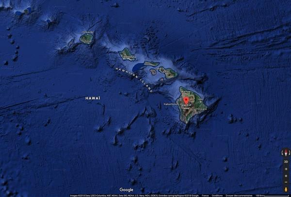 Le Quai d'Orsay déconseille de se rendre sur Big Island (Hawaï)