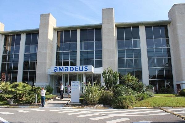 Malgré un chiffre d'affaires en hausse, les ventes d'Amadeus en Europe de l'Ouest ont fortement chuté - Crédit photo : compte Twitter @AmadeusNice