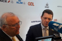 Patrick Alexandre (Air France) et Pieter Elbers (KLM)