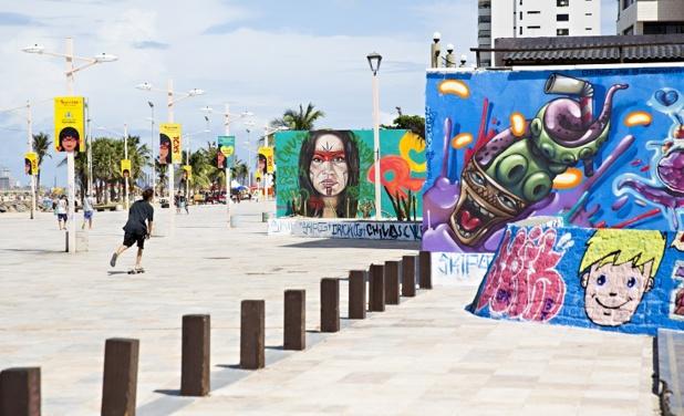 Une vue du bord de mer à Fortaleza - Photo CH