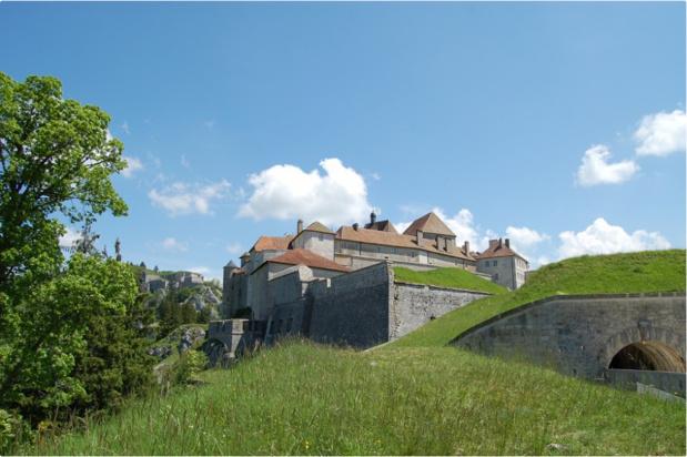 Château de Joux © photo Sandrine Baverel //CRT Bourgogne-Franche-Comté