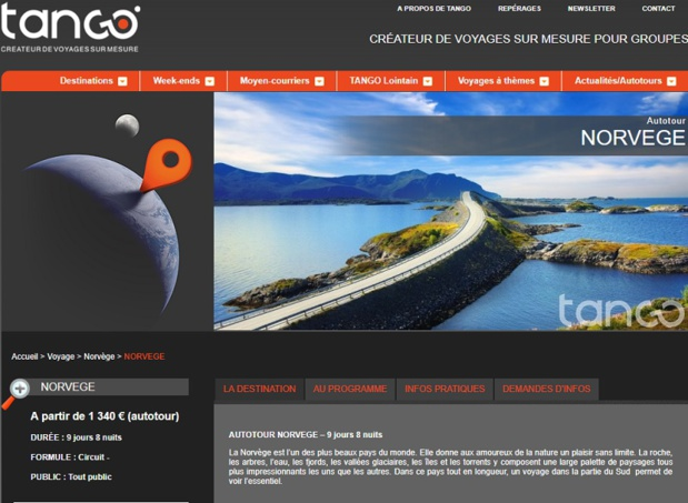 Tango Voyages a lancé des autotours dans une dizaine de destinations pour les groupes - DR