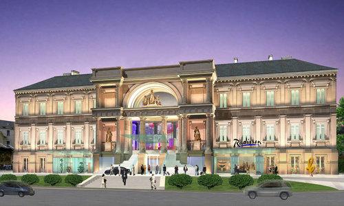 Le Palais de Justice, édifié au 19ème siècle, va être aménagé en un établissement de 142 chambres