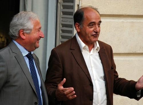 On l'aura compris, l'ambiance était plutôt joyeuse ce 8 juillet au soir, même si les deux Présidents constatent que le début de l'année 2010 n'a pas été folichon avec deux défaillances en 4 mois (Marsans et Royal Tours),
