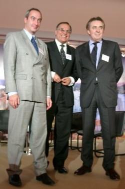 Ashwini Kakkar (Inde), Jean-Michel Harzic (MDF Chine) et Vladimir Kantorovitch (Russie), 3 marchés porteur d'avenir pour la France