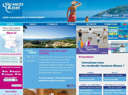 Vacances Bleues veut doubler son parc d'ici 2011