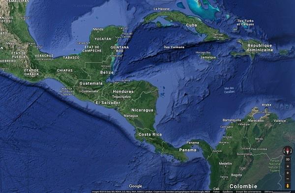 Le Nicaragua connaît une situation chaotique actuellement - Crédit photo : Google Maps