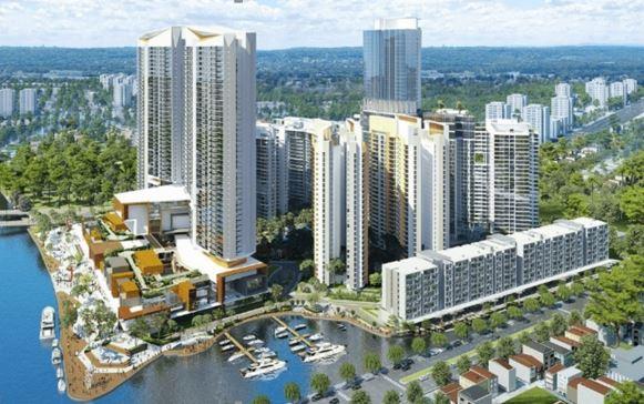 Le Mövenpick Hotel Ho Chi Minh City fera parti du projet Kenton Node Hotel Complex, qui s'élève à 10mn du centre-ville - DR Mövenpick