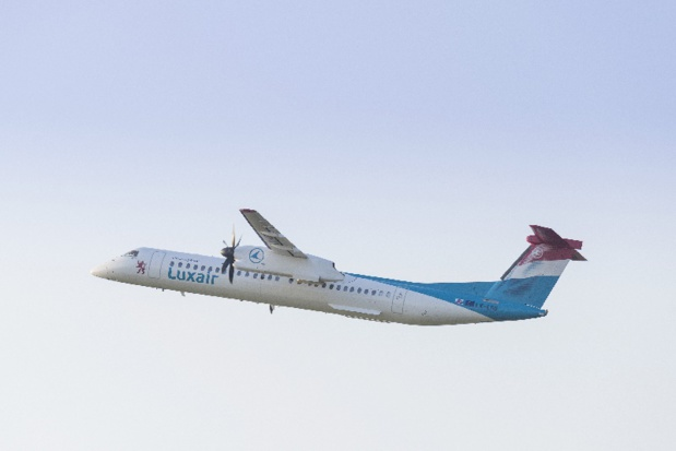 Luxair Luxembourg Airlines Bombardier Q-400 - Photo LuxairGroup