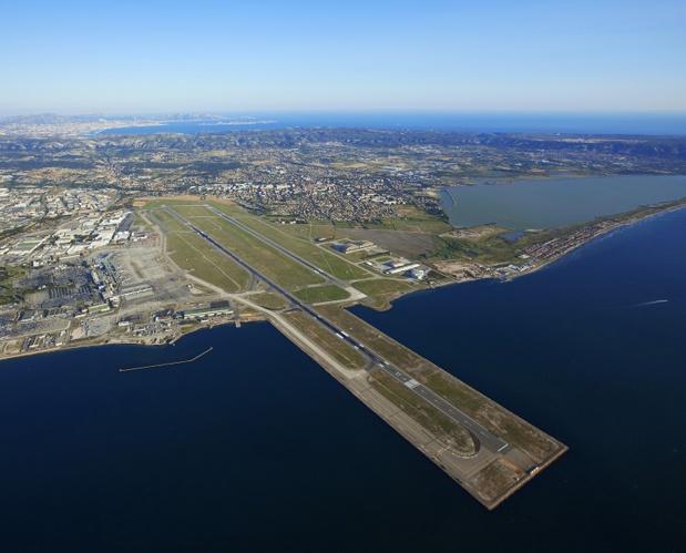 L'Aéroport Marseille Provence enregistre une croissance de 3,3% de son trafic régional et une baisse de 2,9% de son trafic depuis et vers Paris - Photo C. MOIRENC