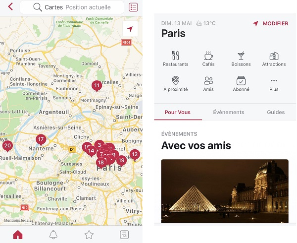 L'application Local de Facebook est disponible en France - Crédit photo : Local