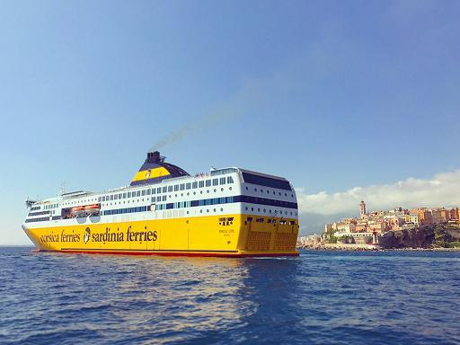 Le Pascal Lota, navire amiral de la flotte Corsica Ferries, lancé en 2017. Photo Corsica Ferries
