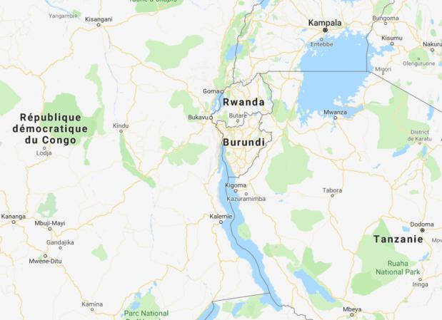 La Cour Pénale Internationale a autorisé le 25 octobre 2017 l'ouverture d'une enquête sur les crimes contre l'humanité qui auraient été commis au Burundi. - DR Google Map