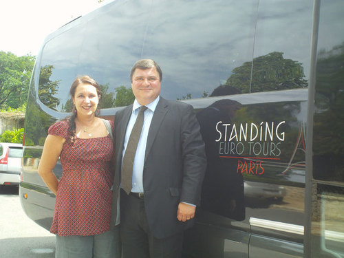 Pascale Gaston, directrice de production Visit France et Jean-Philippe Jamet, commercial de Standing Euro Tours