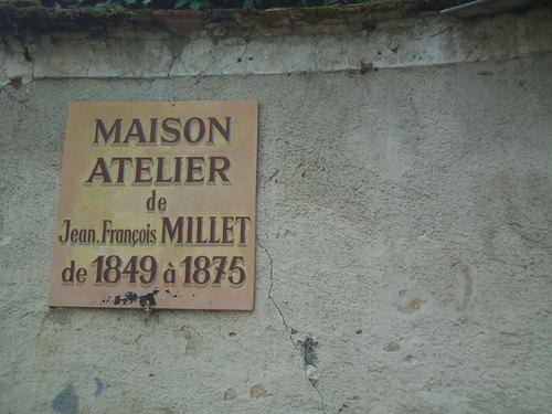 La maison où vécut et travailla Jean-François Millet, aujourd'hui musée privé