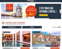 74 offres de séjours vers 40 destinations sont d'ores et déjà accessibles en ligne - DR : Capture d'écran Cdiscount Voyages