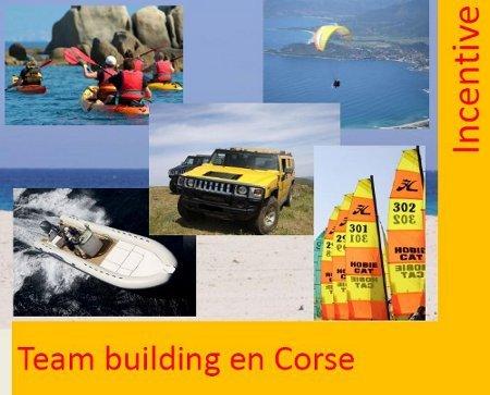 Corse Publitour Voyages vous propose quelques idées de Team building en Corse