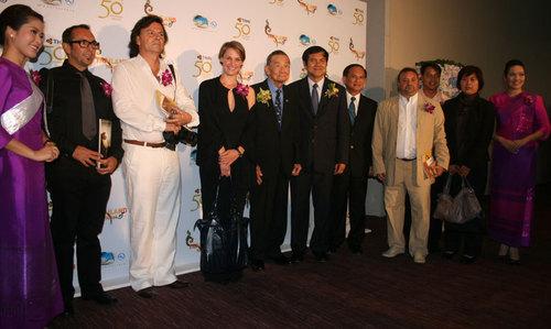 La délégation française en compagnie de M.Suraphon Svetasreni, le Governor de TAT et des principaux responsables du tourisme Thaï - JB/TourMaG.com