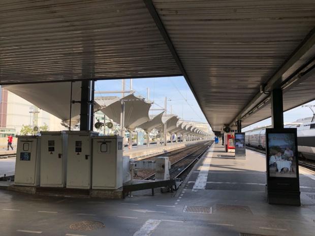 La gare St-Charles a été évacuée ce 19 mai 2018 en fin de matinée - phot TourMaG.com / JdL