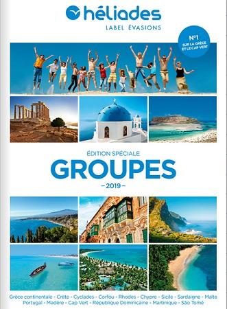 La brochure groupes d'Héliades 2019 - DR