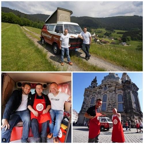 """Les instagrameurs """"les Coflocs"""" feront des photos et vidéos pour l'ONAT - Crédit photo : ONAT"""