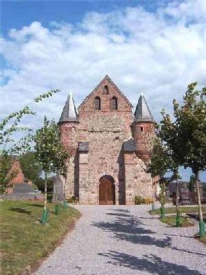 la 2 ème mention du Grand Prix est revenue aux Demeures de Thiérache, région célèbre pour ses églises fortifiées.