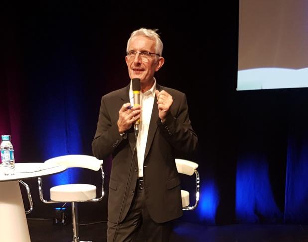 Guillaume Pepy président du directoire de la SNCF a écrit une lettre à l'attention des usagers de la SNCF - Photo CE