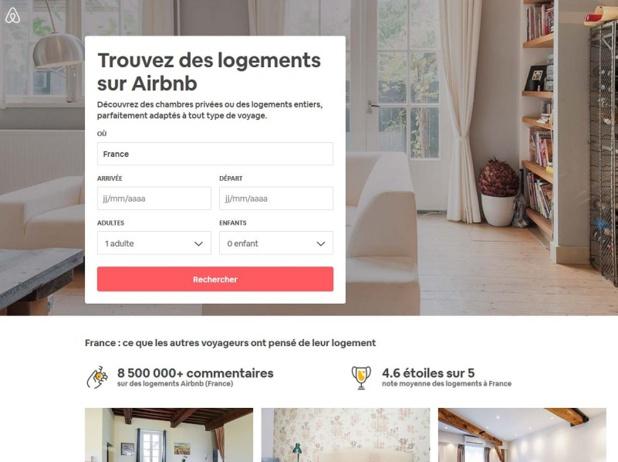 Les plateformes de location de logement type airbnb mis à l'index par la loi Elan