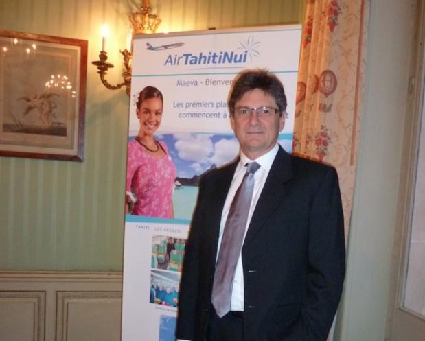 Michel Monvoisin, PDG d'Air Tahiti Nui depuis 2013 © DR