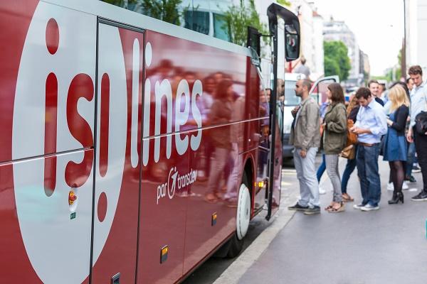 Isilines augmente de 25% son offre pour l'été 2018 - Crédit photo : Isilines