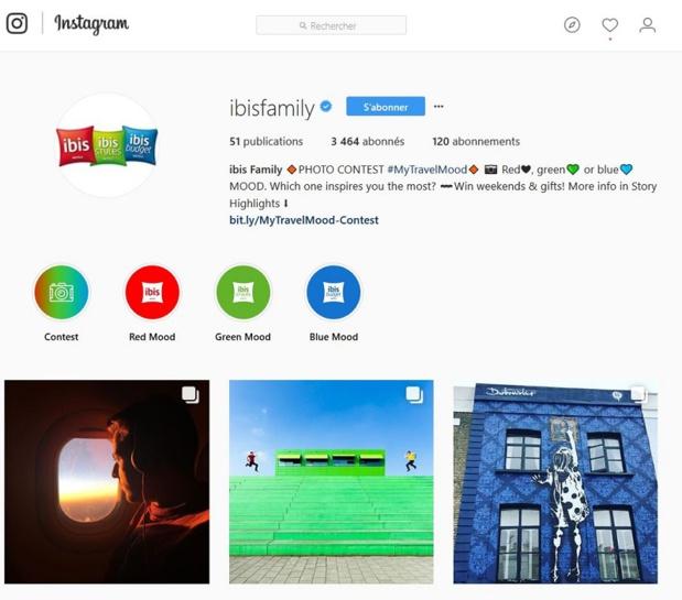Ibis se lance sur Instagram